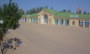 ЖД вокзал Феодосии