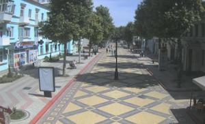 Улица Ленина в Керчи в реальном времени