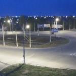 Веб камера Луганска на кольце кв. Гаевого