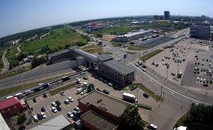 Город Щербинка с дома №15 по улице Спортивная