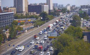 Пересечение шоссе Энтузиастов с дорогой Третье транспортное кольцо в Москве