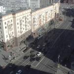 Тверская улица и Никитский переулок в Москве