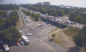 Пересечение Волгоградского проспекта и улицы Академика Скрябина в Москве