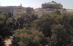 Александринский театр и Екатерининский сад в Санкт-Петербурге