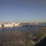 Эрмитаж и Дворцовый мост в Санкт-Петербурге