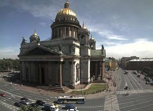 Исаакиевский собор и Исаакиевская площадь в Санкт-Петербурге