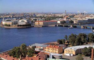 Васильевский остров в Санкт-Петербурге