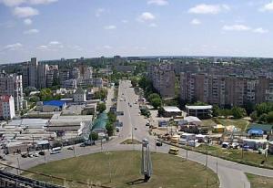 Панорама города Хеpсон на Украине