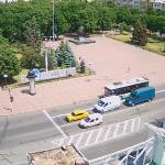 Веб камера на площади ВОВ в Луганске