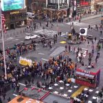 Площадь Тайм-сквер в Нью-Йорке