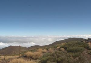Вид на север с горы Тейде на острове Тенерифе