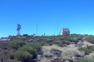 Вид на юг с горы Тейде на острове Тенерифе