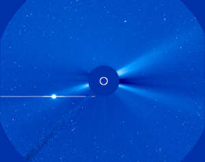Коронограф LASCO C3 Солнечной обсерватории SOHO