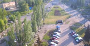 Веб камера Луганска онлайн на улице Линева