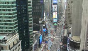 Обзорная веб камера на Таймс-сквер Нью-Йорк