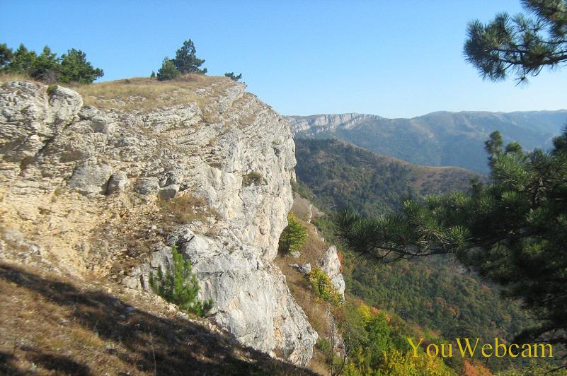 Природа на горе Ай-Петри