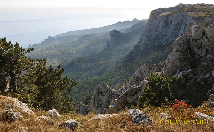 Природа в горах Крыма