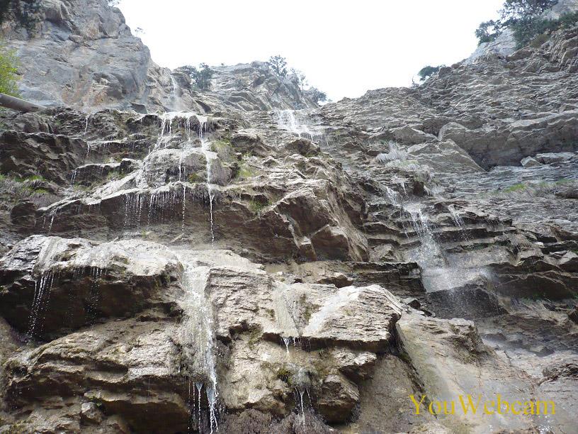 Водопад в Ялте