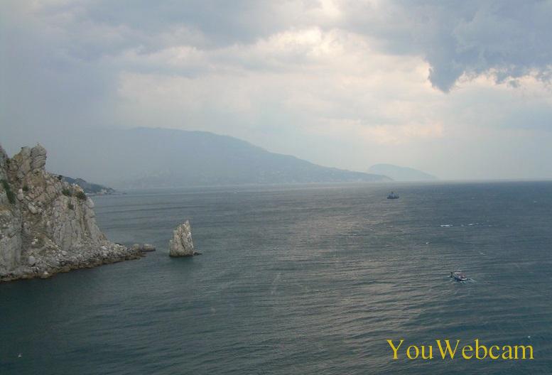 Крым, Большая Ялта. Гаспра, мыс Ай-Тодор