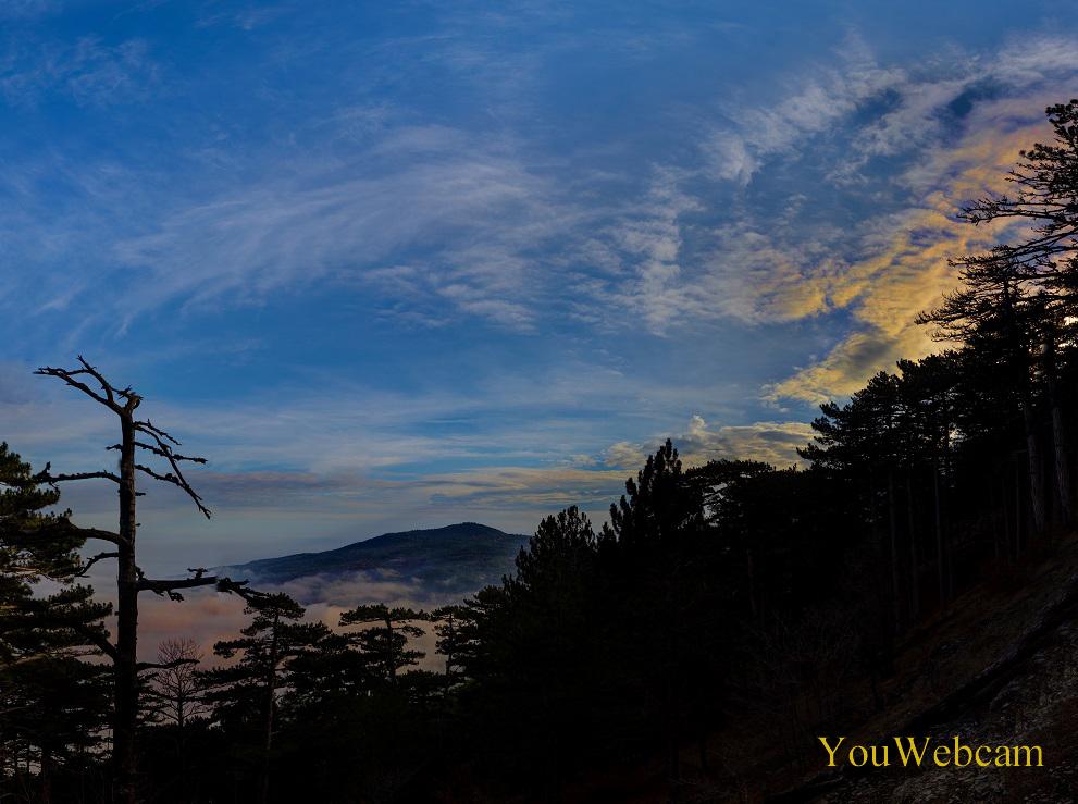 Поздний вечер у водопада Учан-Су