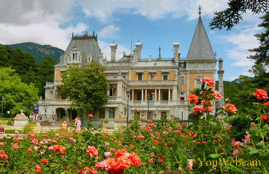 Массандровский Дворец, Большая Ялта, Крым