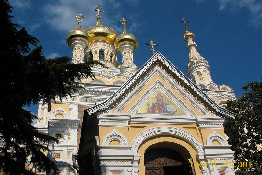 В Центре Ялты собор Александра Невского