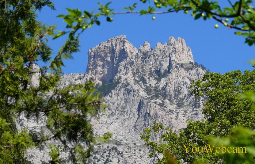 Пики горы Ай-Петри