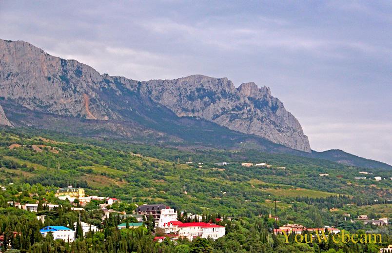 Вид с горы Дива на Ай-Петри