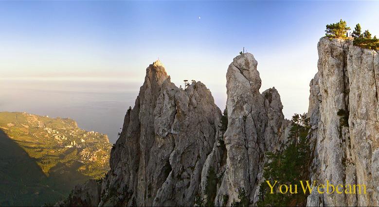 4 зубца горы Ай-Петри, Крым Ялта
