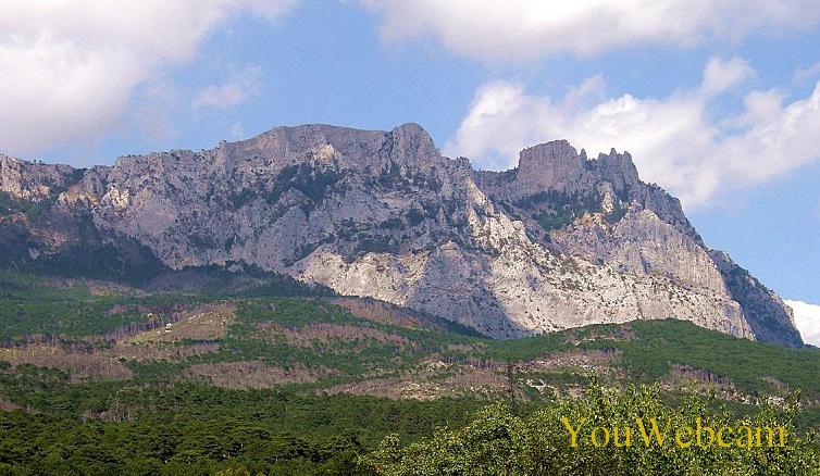 Гора Ай-Петри, вид с Царской Солнечной тропы