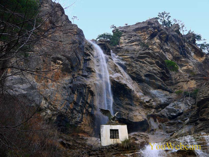 Водопад Учан-Су Ялта Крым