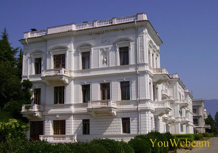 Ливадийский дворец в Ялте, Крым Россия