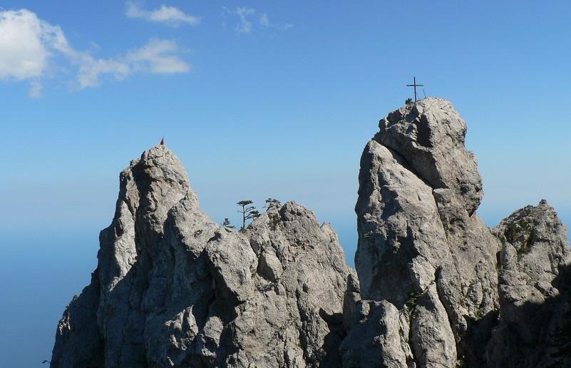 Поход в горы в Крыму