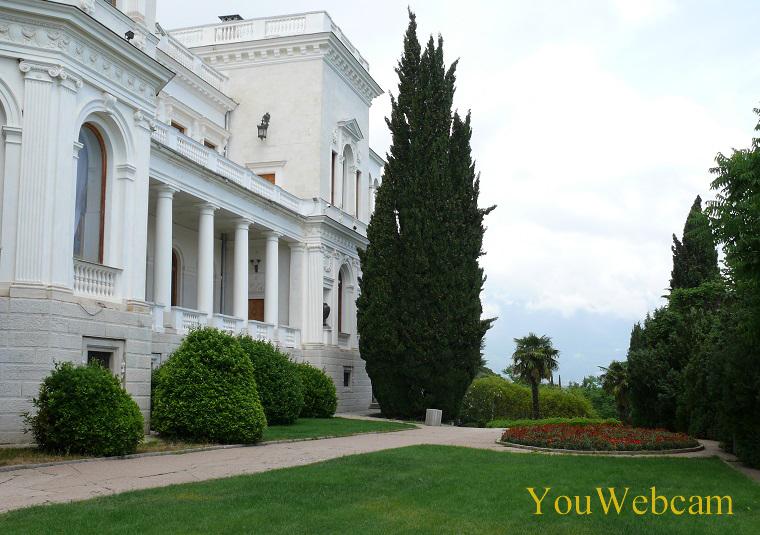 В парке Ливадийского дворца. Ялта Крым