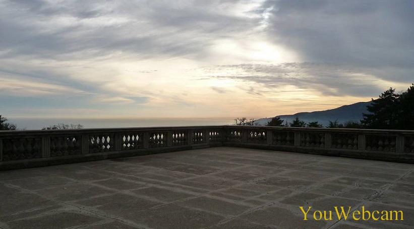 Вид со смотровой Массандровского дворца