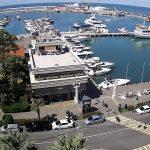 Мелководный причал морского порта Сочи
