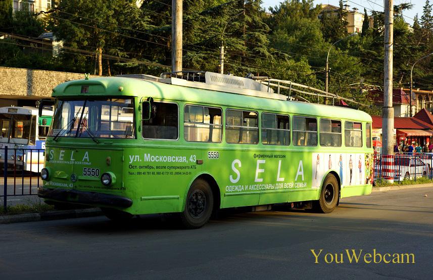 Троллейбусы в Крыму