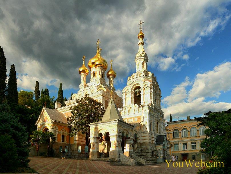 Собор Александра Невского в Ялте Крым