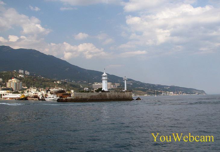 Порт Ялты отдых в Крыму