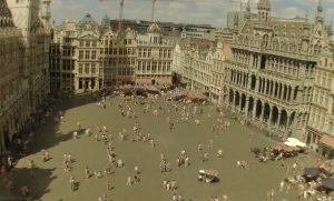 Площадь Гран-Плас в Брюсселе