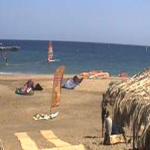 Пляж на курорте Хургада в Египте