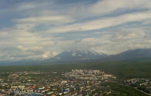 Вулкан Корякский на Камчатке