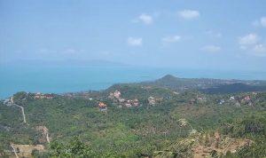 Вид из комплекса вилл Anthong Hills на Самуи