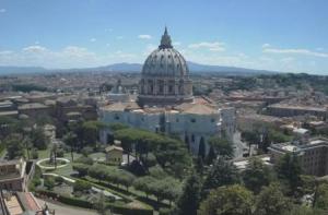 Купол Святого Петра в Ватикане