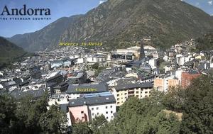 Панорама Андорра-ла-Велья