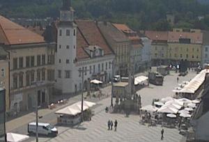 Главная площадь Леобена