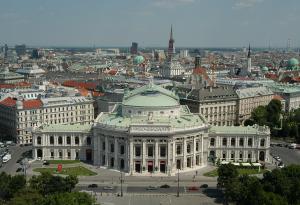 Бургтеатр в городе Вена