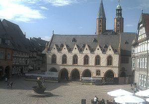 Главная площадь города Гослар
