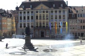 Рыночная площадь города Кобург