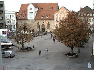 Главная площадь Ройтлинген в Германии